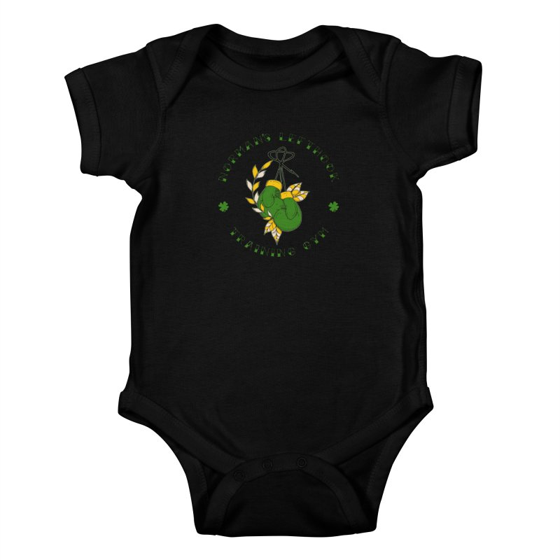 Norman's Lefthook Kids Baby Bodysuit by NORMAN WDC SHOP