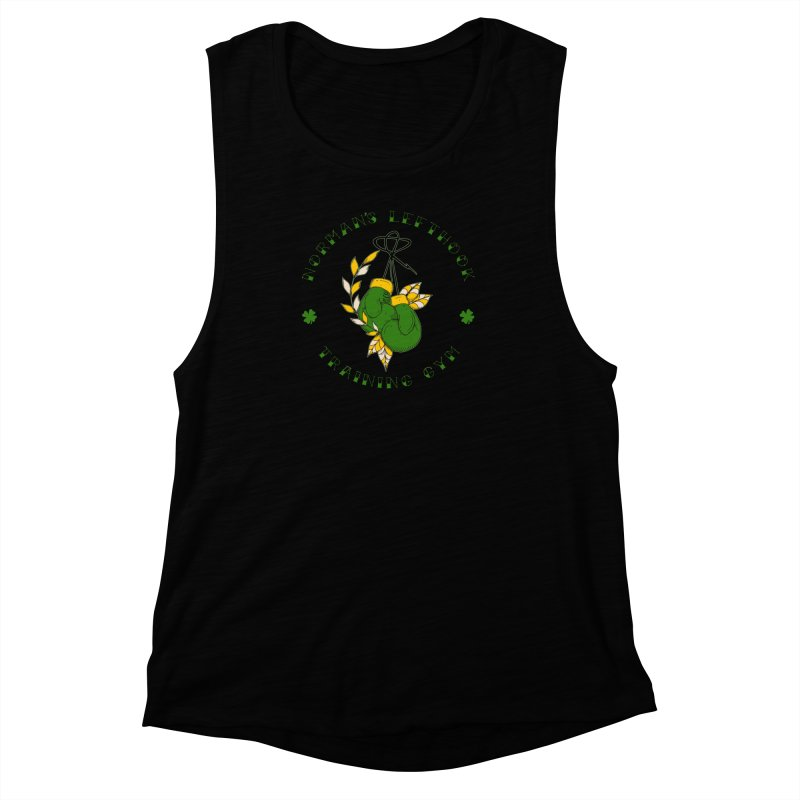 Norman's Lefthook Women's Muscle Tank by NORMAN WDC SHOP