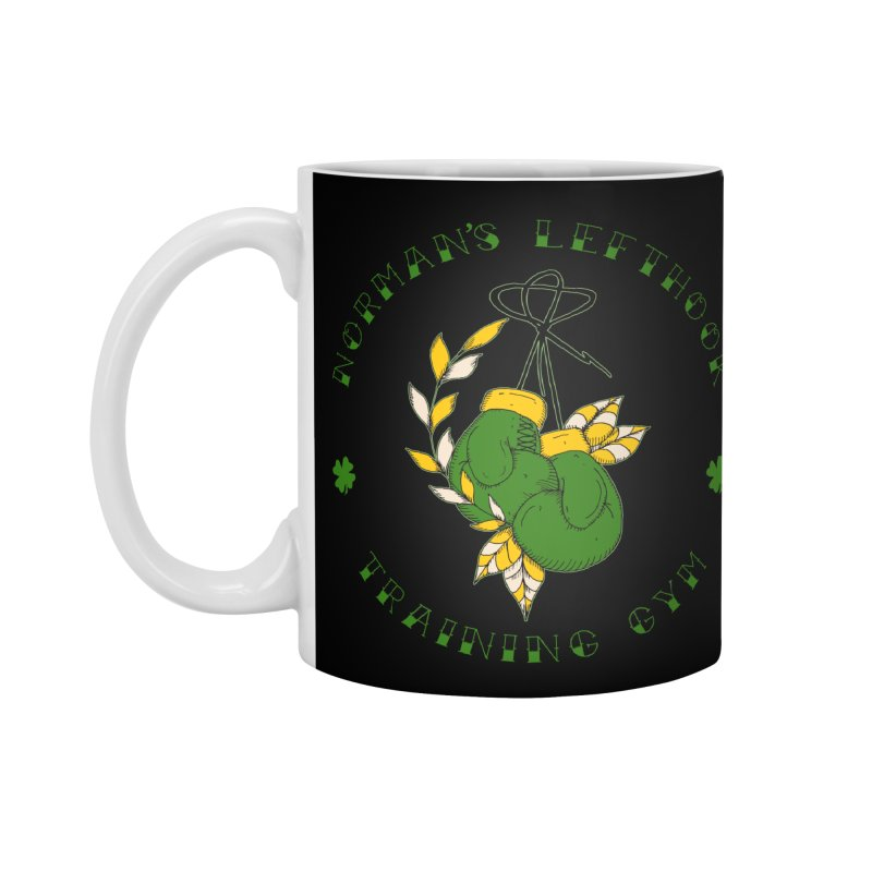 Norman's Lefthook Accessories Mug by NORMAN WDC SHOP