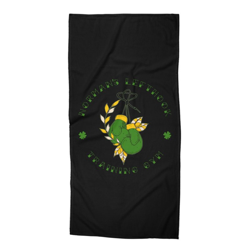 Norman's Lefthook Accessories Beach Towel by NORMAN WDC SHOP
