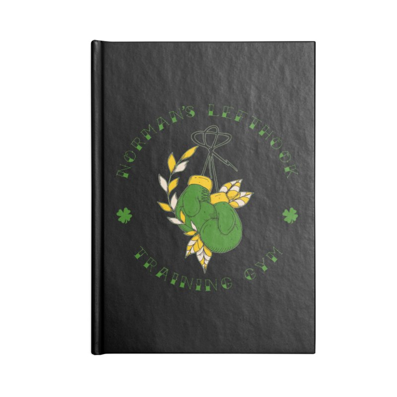Norman's Lefthook Accessories Notebook by NORMAN WDC SHOP