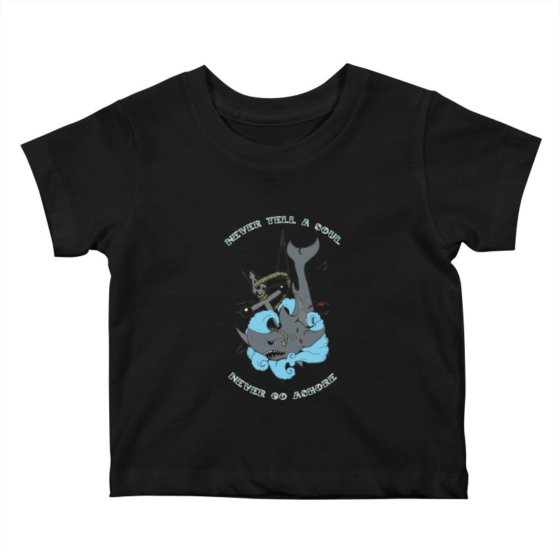 Never Tell a Soul Kids Baby T-Shirt by NORMAN WDC SHOP