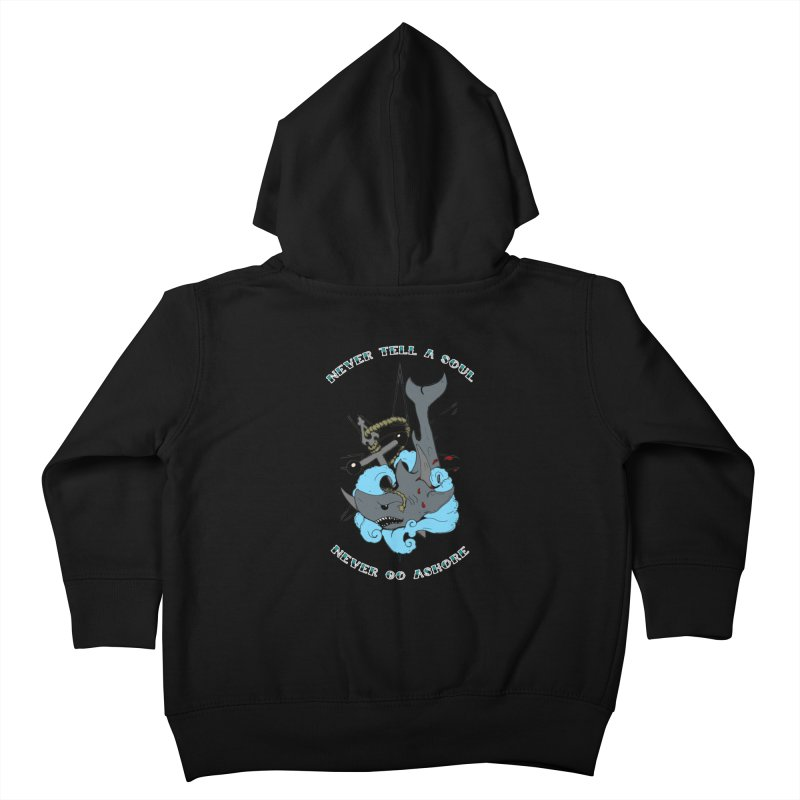 Never Tell a Soul Kids Toddler Zip-Up Hoody by NORMAN WDC SHOP