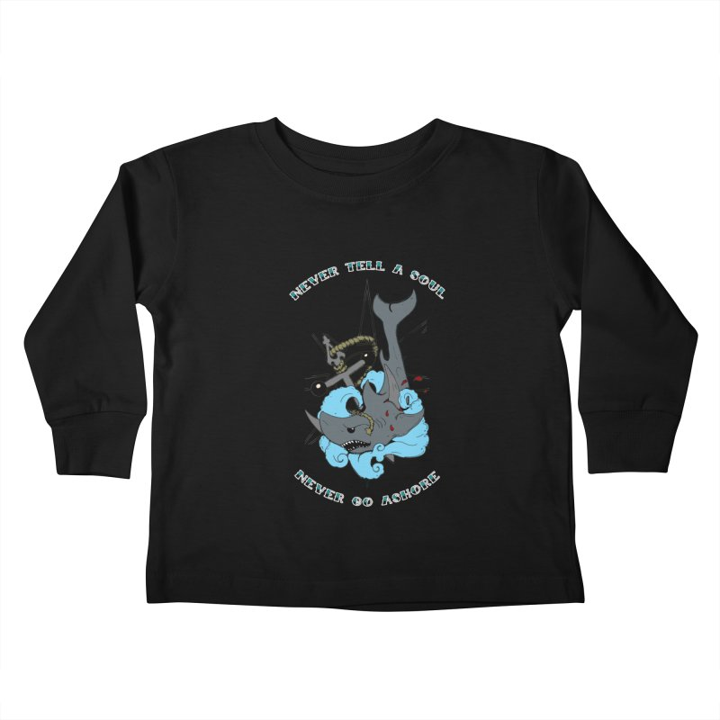 Never Tell a Soul Kids Toddler Longsleeve T-Shirt by NORMAN WDC SHOP