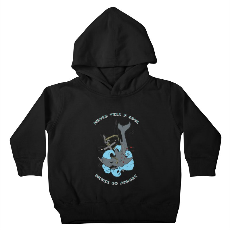 Never Tell a Soul Kids Toddler Pullover Hoody by NORMAN WDC SHOP
