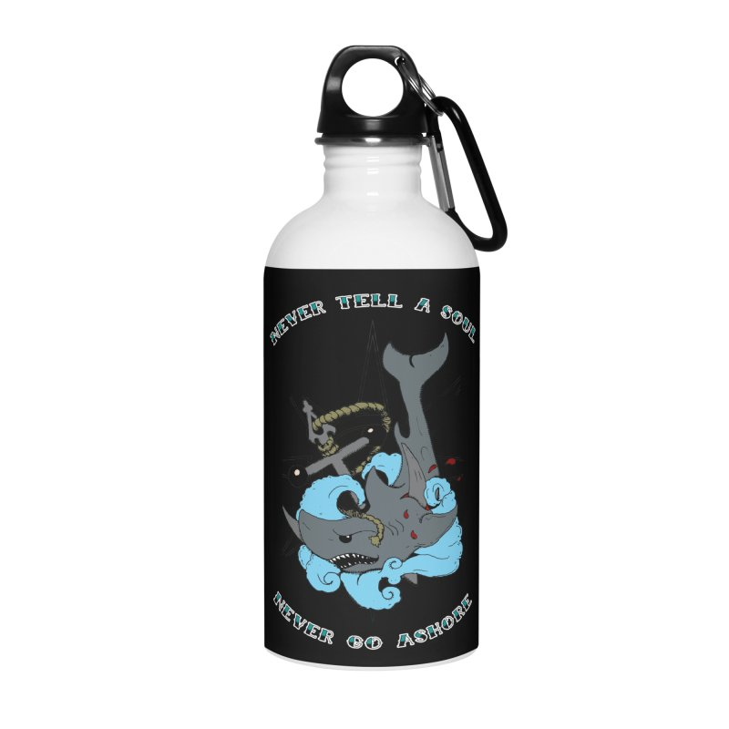 Never Tell a Soul Accessories Water Bottle by NORMAN WDC SHOP