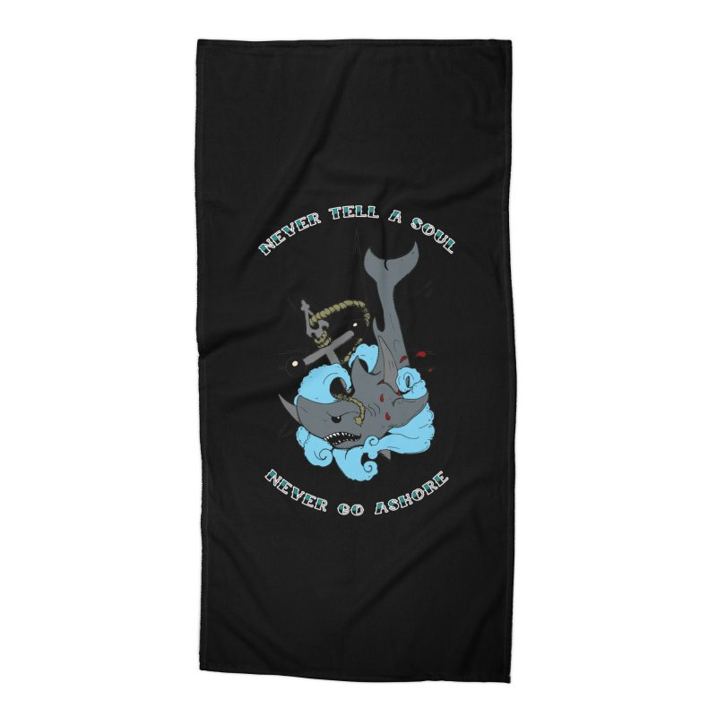 Never Tell a Soul Accessories Beach Towel by NORMAN WDC SHOP
