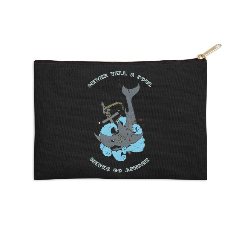 Never Tell a Soul Accessories Zip Pouch by NORMAN WDC SHOP