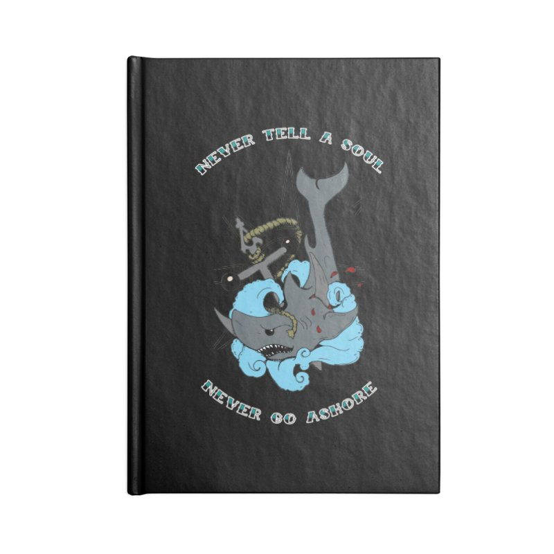 Never Tell a Soul Accessories Notebook by NORMAN WDC SHOP