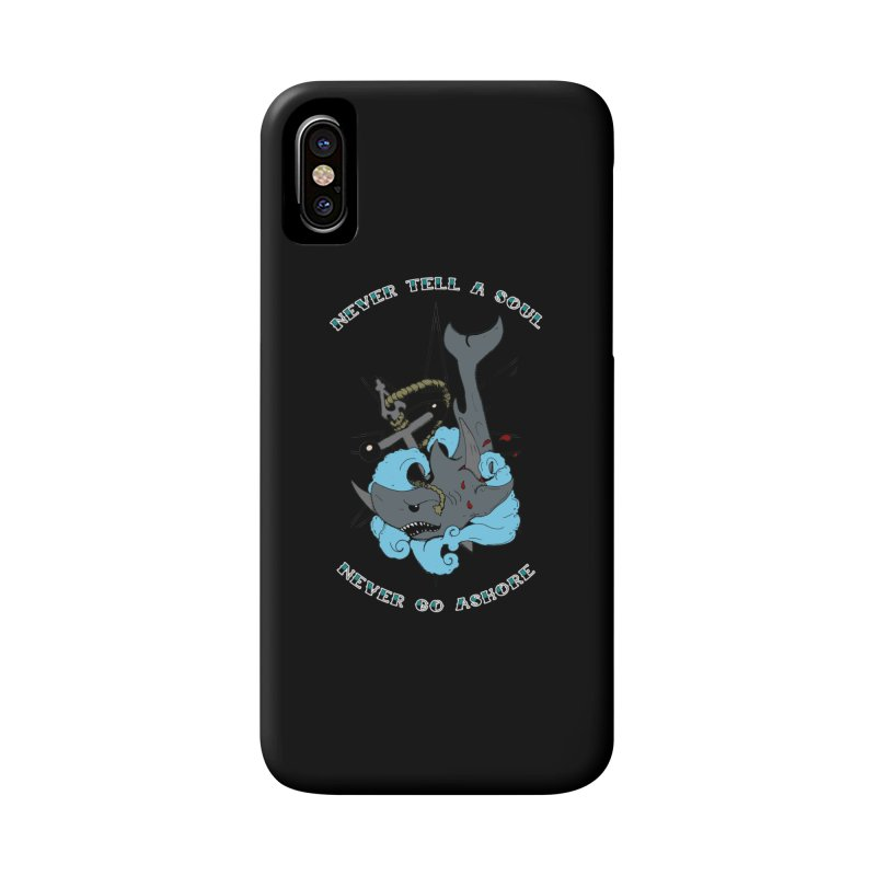 Never Tell a Soul Accessories Phone Case by NORMAN WDC SHOP