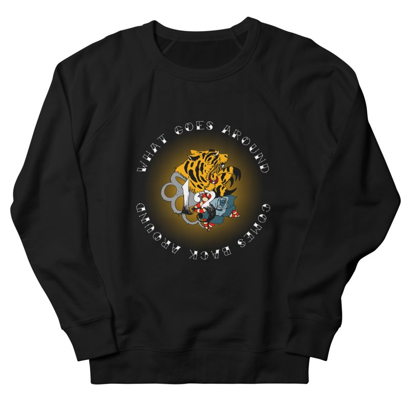 Tigers & Knuckles Women's French Terry Sweatshirt by NORMAN WDC SHOP