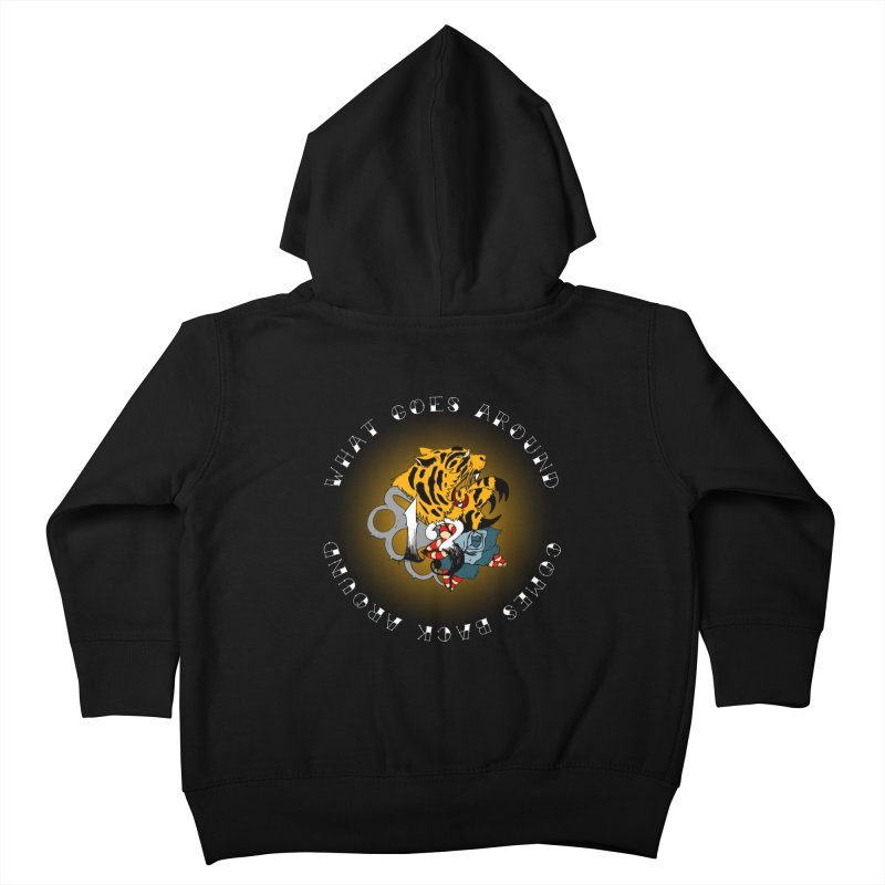 Tigers & Knuckles Kids Toddler Zip-Up Hoody by NORMAN WDC SHOP