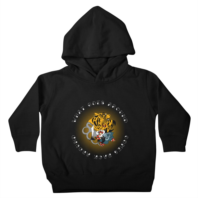Tigers & Knuckles Kids Toddler Pullover Hoody by NORMAN WDC SHOP