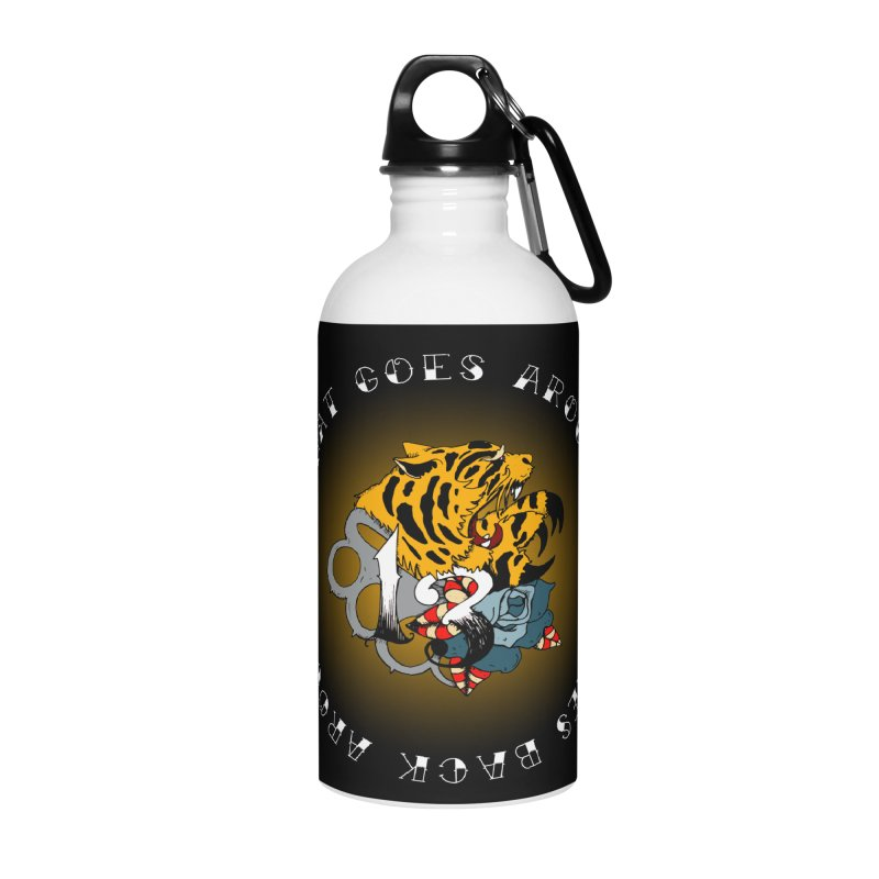 Tigers & Knuckles Accessories Water Bottle by NORMAN WDC SHOP