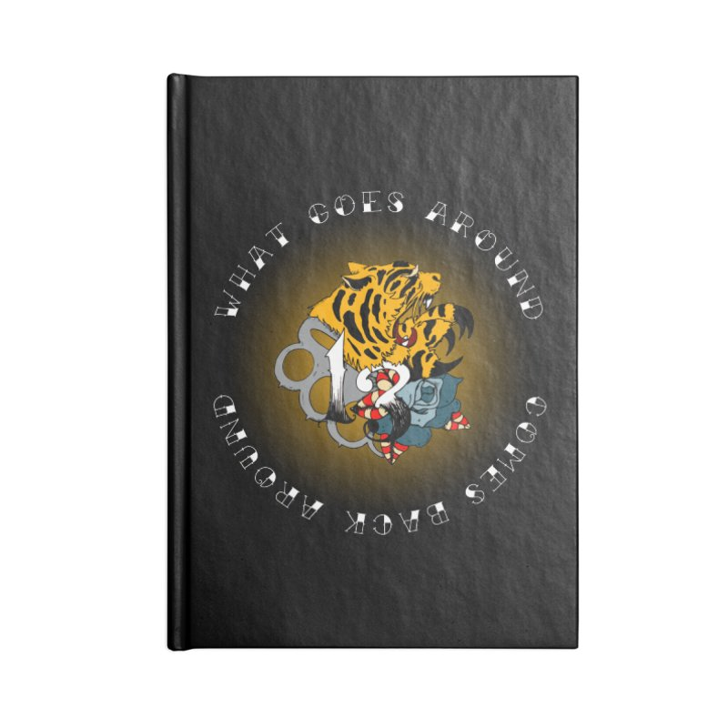 Tigers & Knuckles Accessories Notebook by NORMAN WDC SHOP