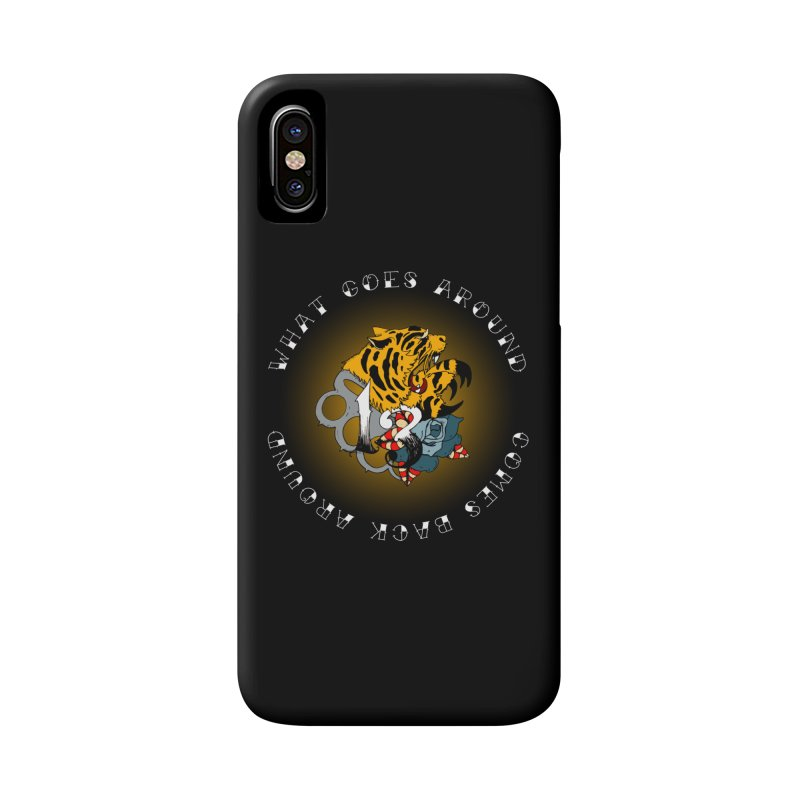 Tigers & Knuckles Accessories Phone Case by NORMAN WDC SHOP