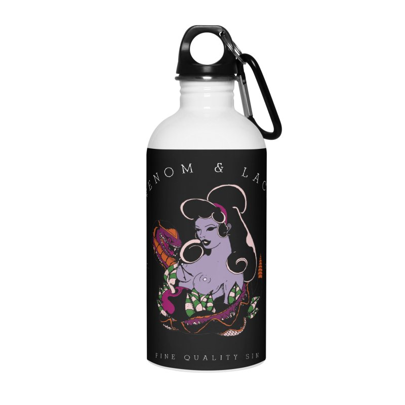 Venom & Lace Accessories Water Bottle by NORMAN WDC SHOP