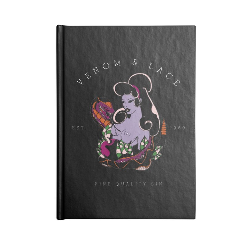 Venom & Lace Accessories Notebook by NORMAN WDC SHOP