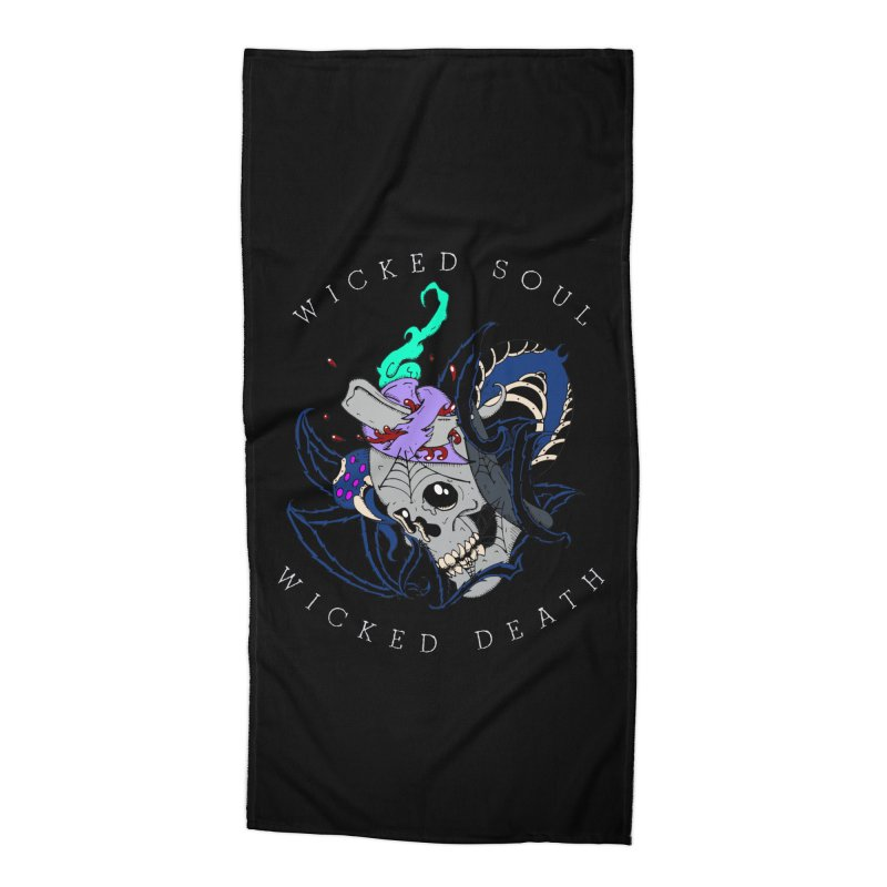 Wicked Soul Accessories Beach Towel by NORMAN WDC SHOP