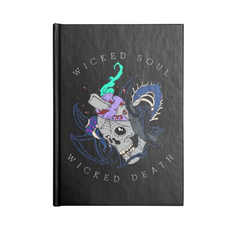 Wicked Soul Accessories Notebook by NORMAN WDC SHOP