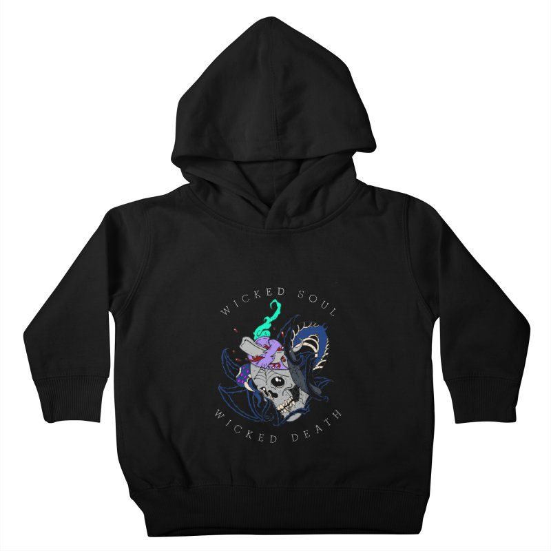 Wicked Soul Kids Toddler Pullover Hoody by NORMAN WDC SHOP
