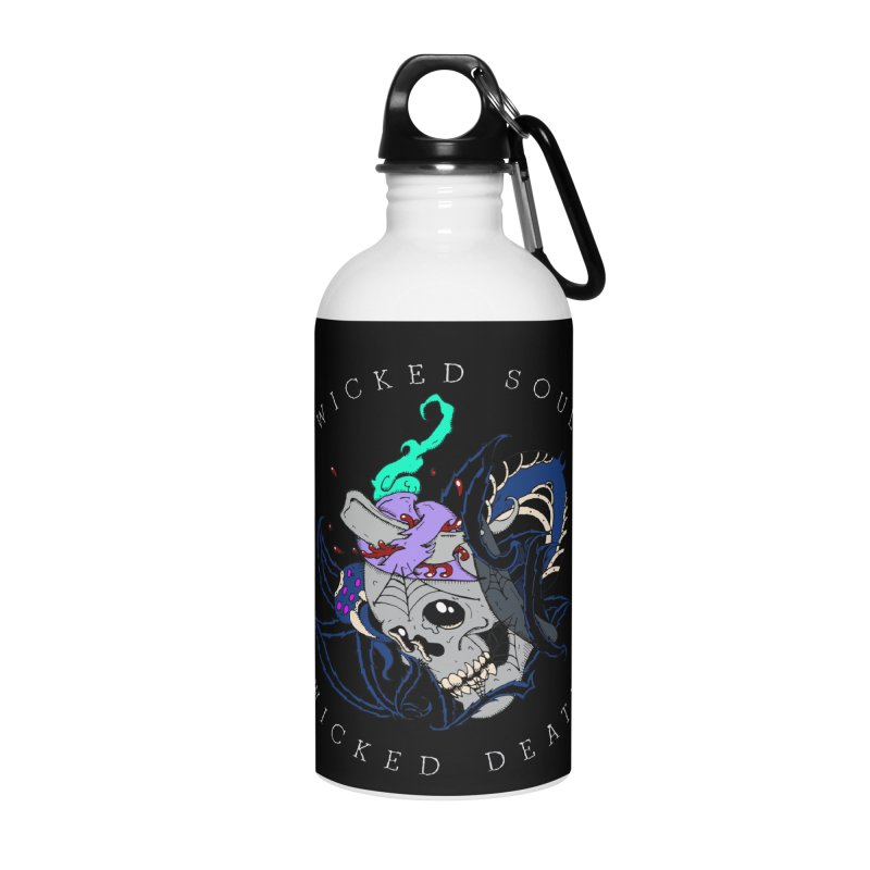 Wicked Soul Accessories Water Bottle by NORMAN WDC SHOP
