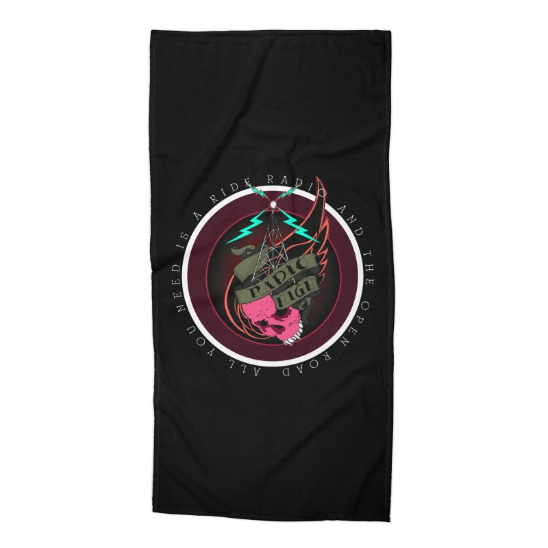 Open Road Accessories Beach Towel by NORMAN WDC SHOP