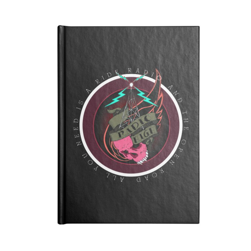 Open Road Accessories Notebook by NORMAN WDC SHOP