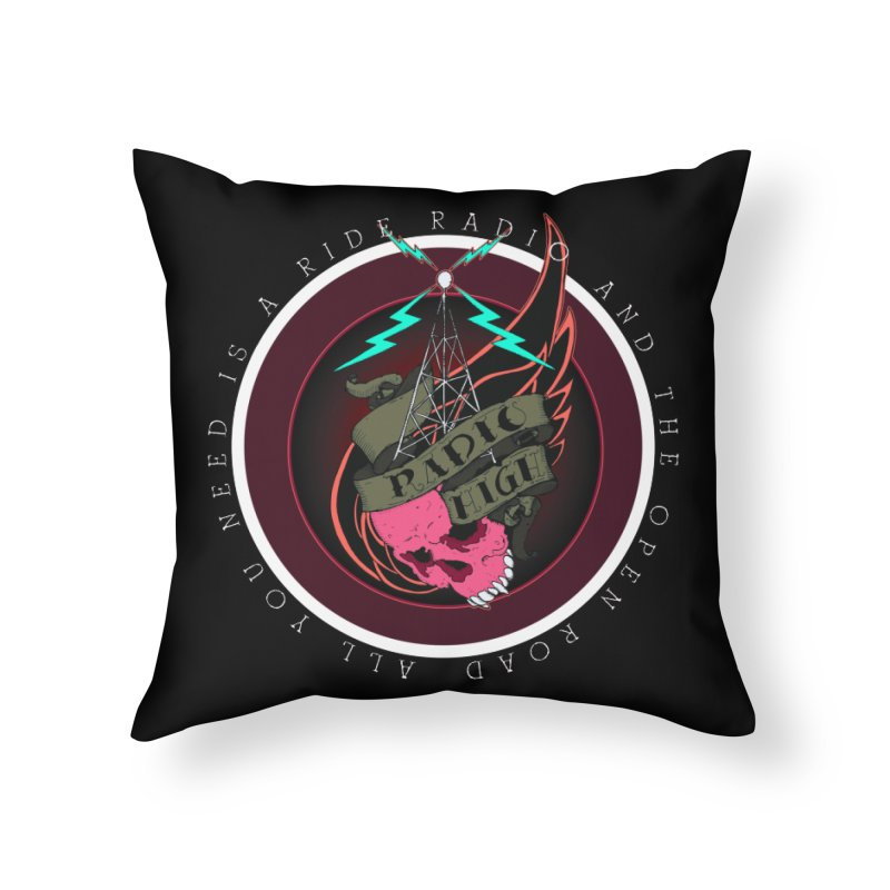 Open Road Home Throw Pillow by NORMAN WDC SHOP