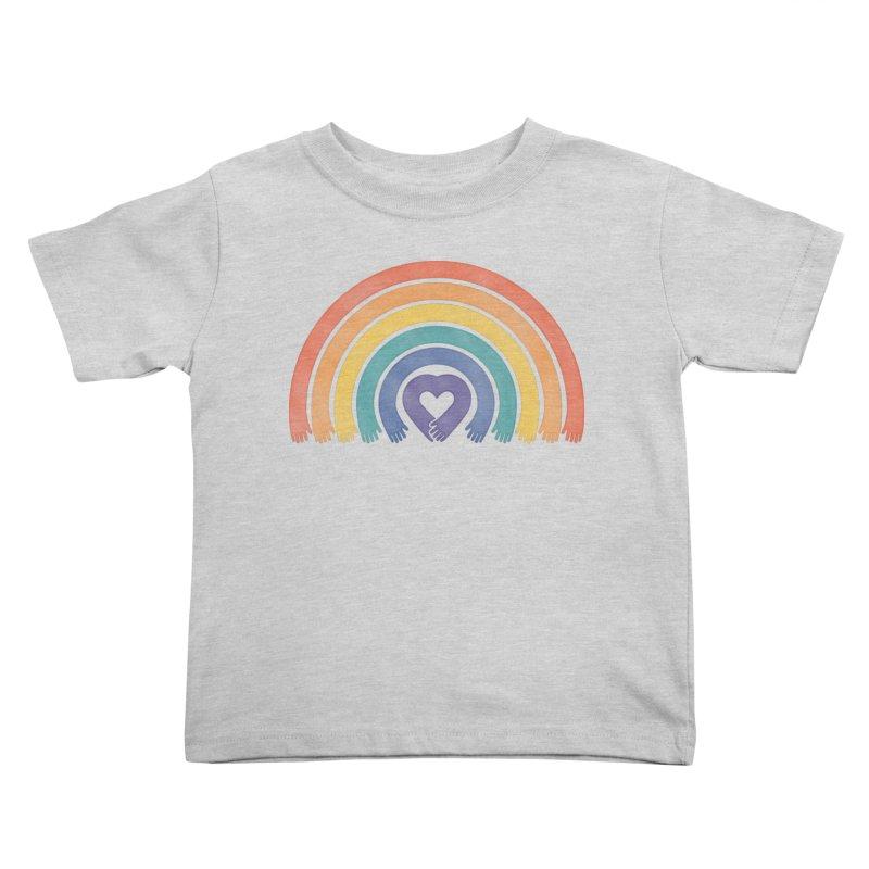 Love All Kids Toddler T-Shirt by normanduenas's Artist Shop