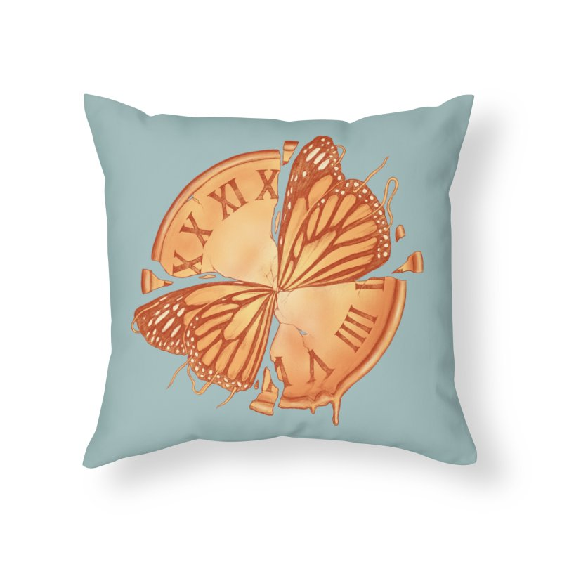 Memories Embody Time (Time Embodies Memories) Home Throw Pillow by normanduenas's Artist Shop