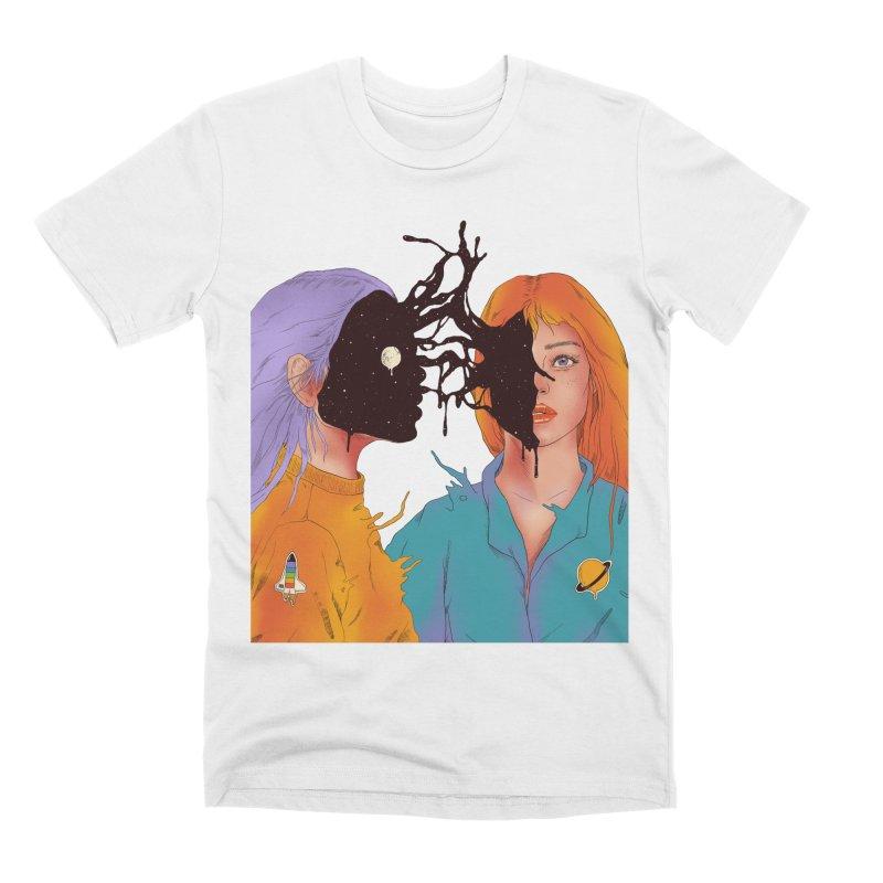 Shared Universe Men's T-Shirt by normanduenas's Artist Shop