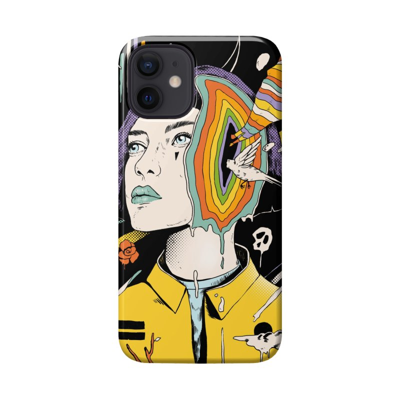 The Overthinker Accessories Phone Case by normanduenas's Artist Shop