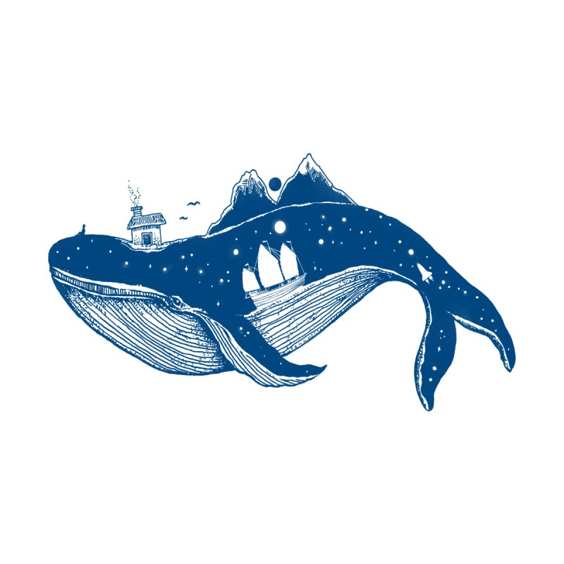 Home (A Whale from Home) Men's T-Shirt by normanduenas's Artist Shop