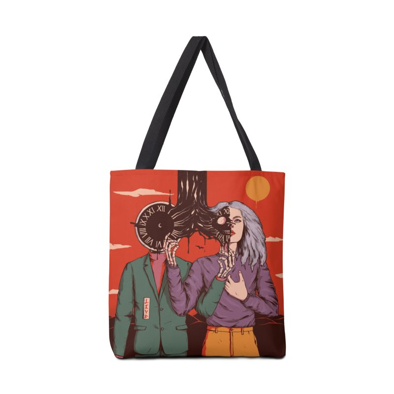 Shared Time Accessories Bag by normanduenas's Artist Shop