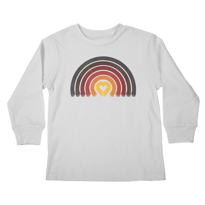 Love All Asian Lives Kids Longsleeve T-Shirt by normanduenas's Artist Shop