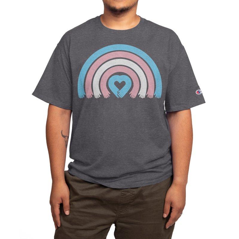 Love All Trans Lives Men's T-Shirt by normanduenas's Artist Shop
