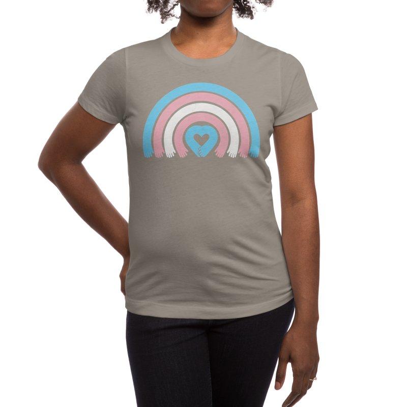 Love All Trans Lives Women's T-Shirt by normanduenas's Artist Shop