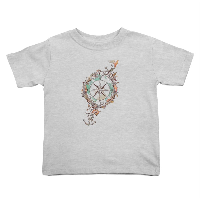 Bon Voyage Kids Toddler T-Shirt by normanduenas's Artist Shop