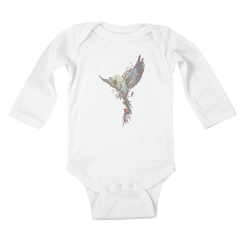 Tempus Fugit Kids Baby Longsleeve Bodysuit by normanduenas's Artist Shop