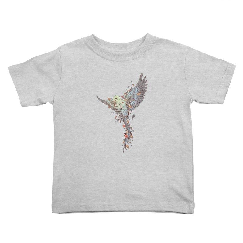 Tempus Fugit Kids Toddler T-Shirt by normanduenas's Artist Shop