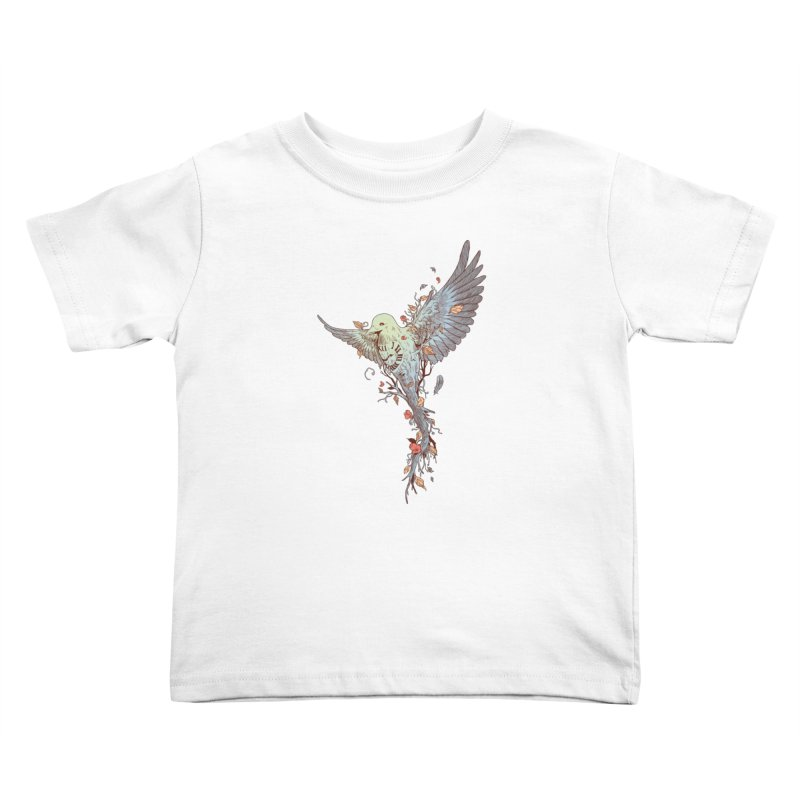 Tempus Fugit Kids Toddler T-Shirt by normanduenas's Artist Shop