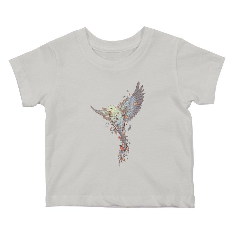 Tempus Fugit Kids Baby T-Shirt by normanduenas's Artist Shop