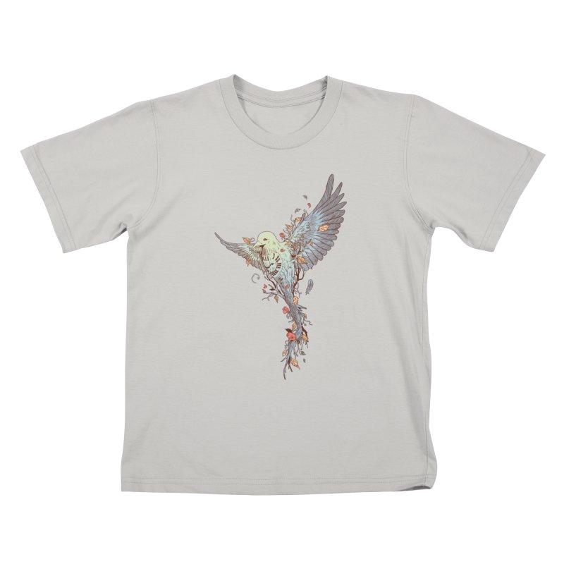 Tempus Fugit Kids T-Shirt by normanduenas's Artist Shop