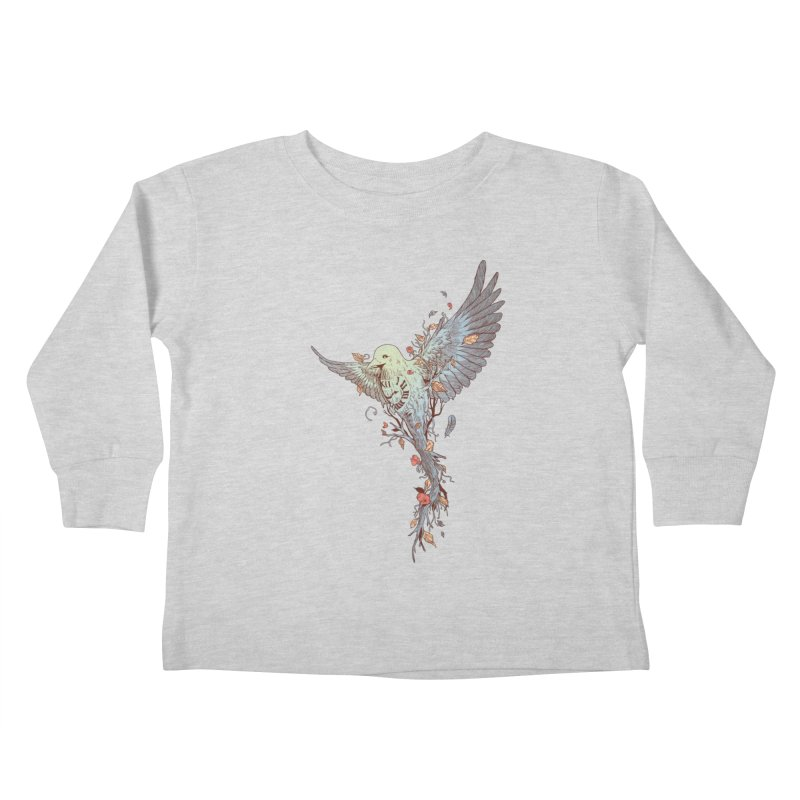 Tempus Fugit Kids Toddler Longsleeve T-Shirt by normanduenas's Artist Shop
