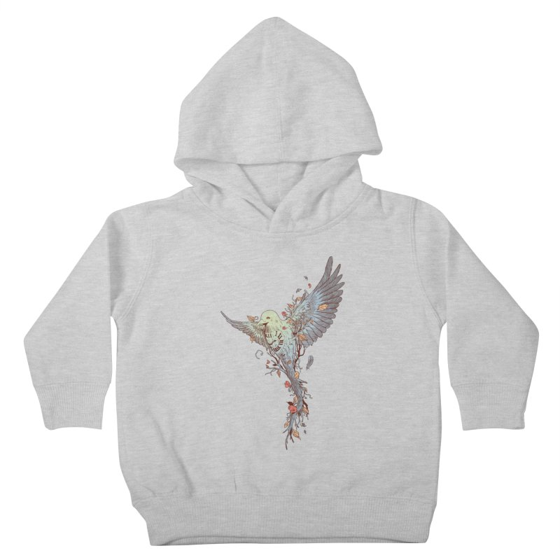 Tempus Fugit Kids Toddler Pullover Hoody by normanduenas's Artist Shop