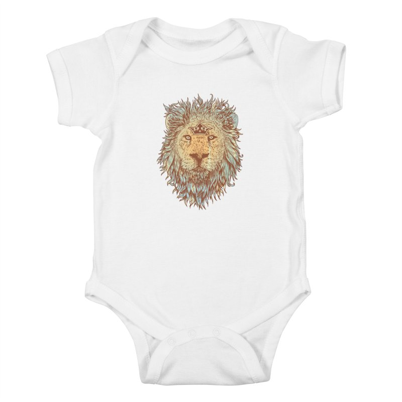 The Blue-Blooded and The Brave Kids Baby Bodysuit by normanduenas's Artist Shop