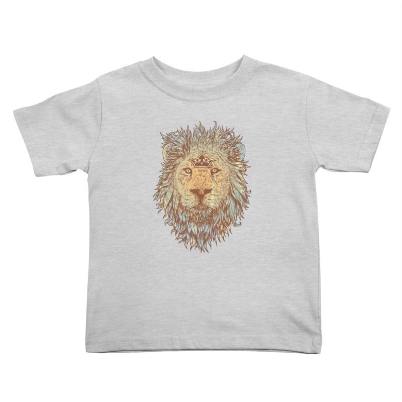 The Blue-Blooded and The Brave Kids Toddler T-Shirt by normanduenas's Artist Shop
