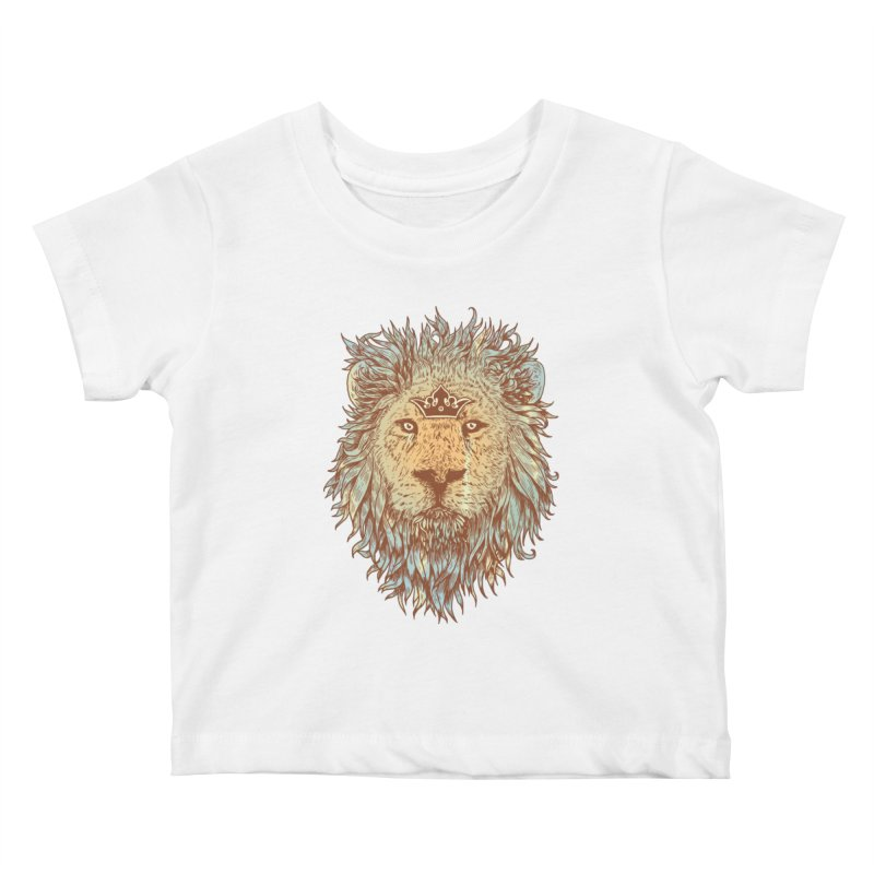 The Blue-Blooded and The Brave Kids Baby T-Shirt by normanduenas's Artist Shop