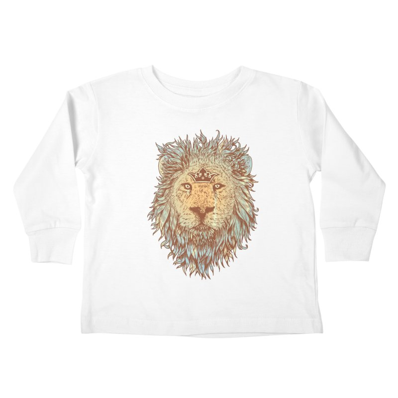 The Blue-Blooded and The Brave Kids Toddler Longsleeve T-Shirt by normanduenas's Artist Shop